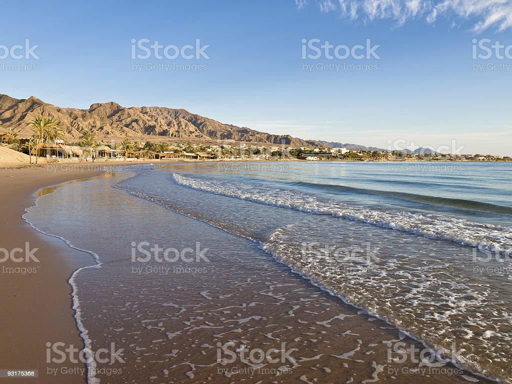 Nuweiba in Sinai, Egypt stock photo