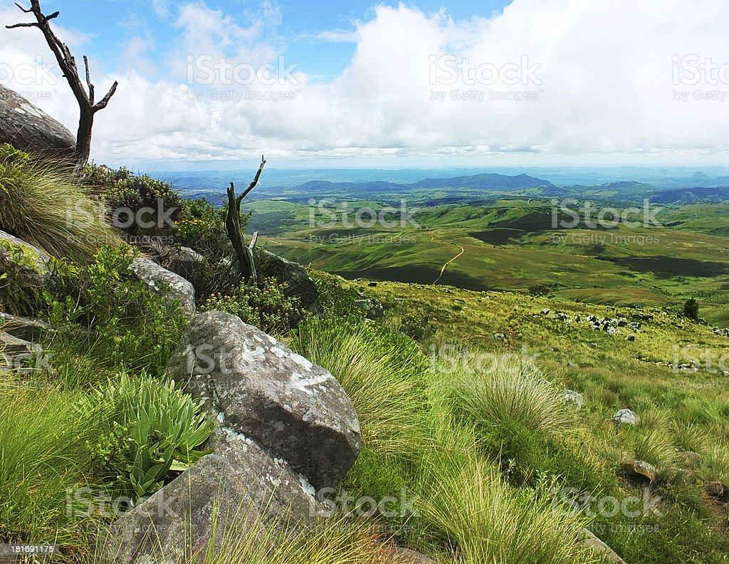 Nyanga Mountains royalty-free stock photo