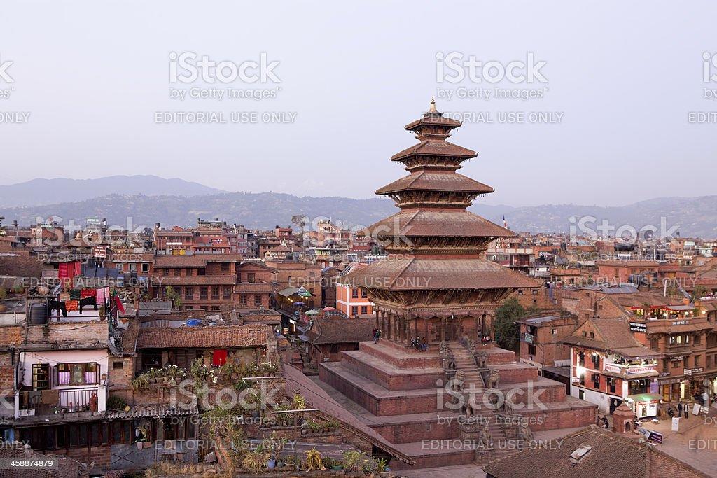 Nyatapola  Temple Bhaktapur stock photo
