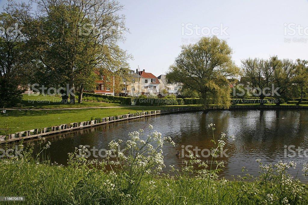 Nyborg, Denmark royalty-free stock photo