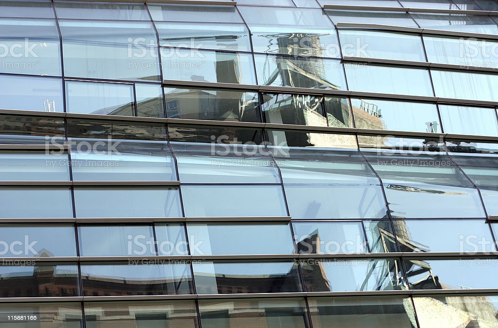 nyc building abstract stock photo