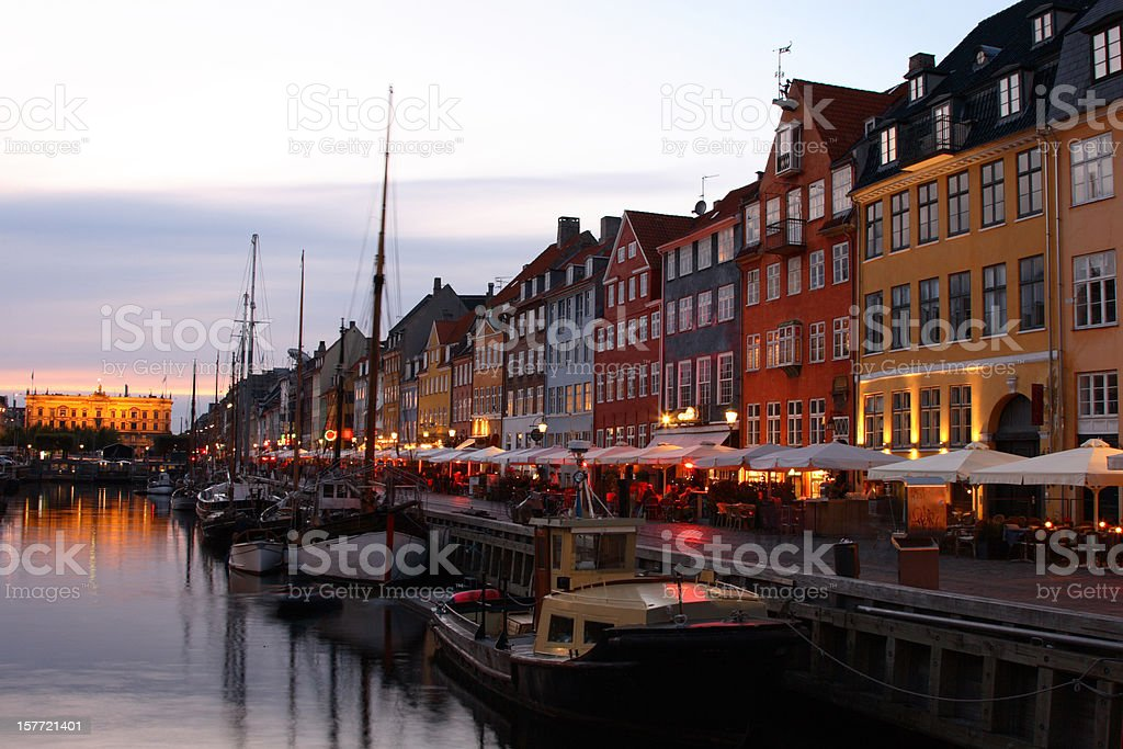 Nyhavn Canal royalty-free stock photo