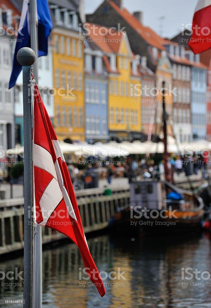 Nyhavn Copenhagen Denmark royalty-free stock photo
