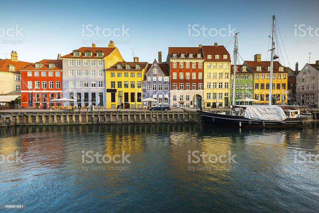 Nyhavn, Copenhagen, Denmark stock photo