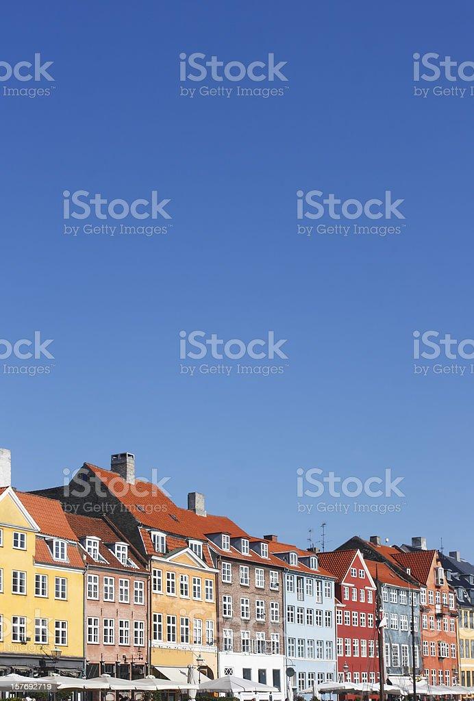 Nyhavn, Copenhagen royalty-free stock photo