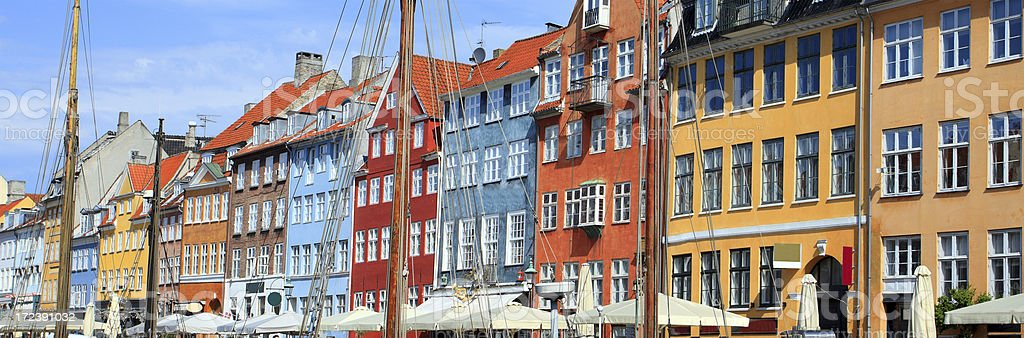 Nyhavn, Copenhagen royalty-free stock photo
