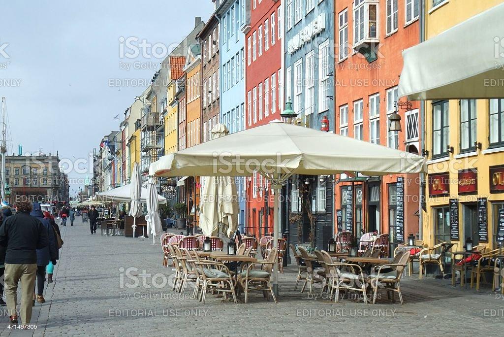 Nyhavn, Denmark royalty-free stock photo