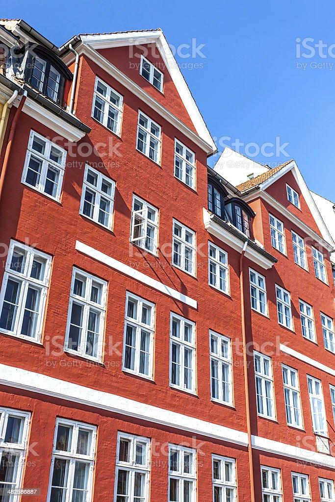 Nyhavn / Hans Christian Andersen Home royalty-free stock photo