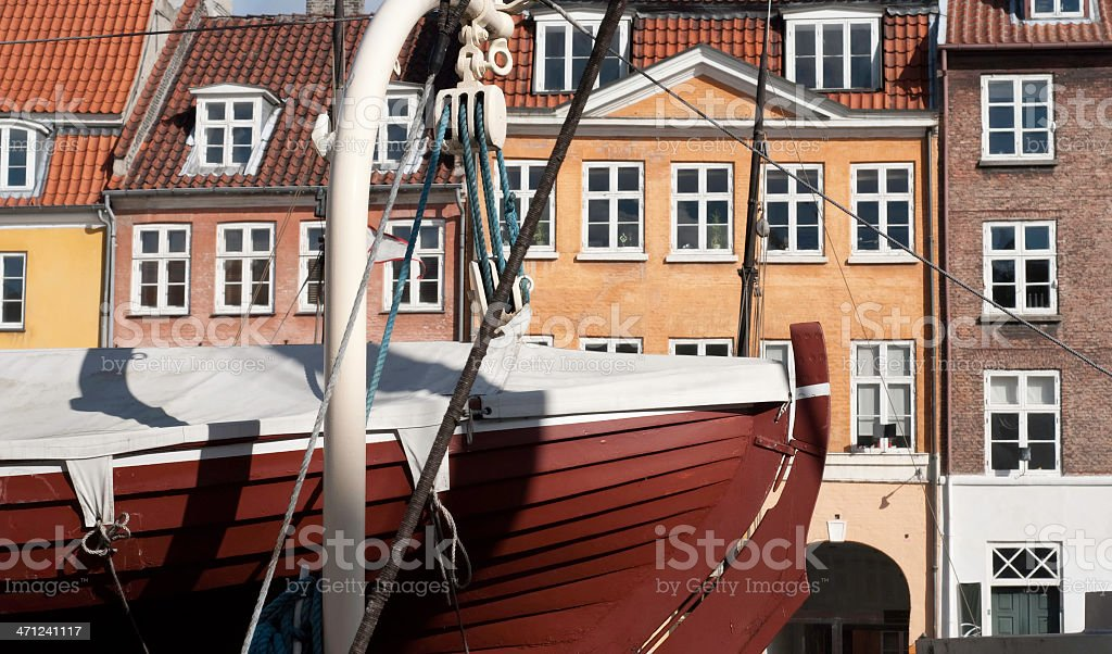 Nyhavn (Copenhagen) stock photo