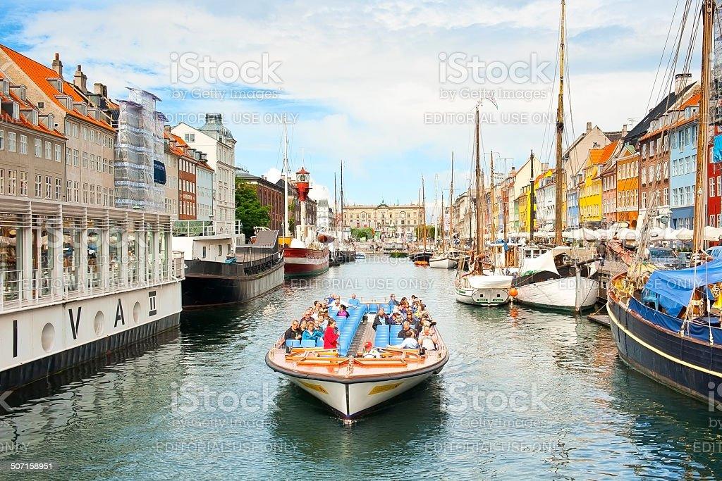 Nyhavn stock photo
