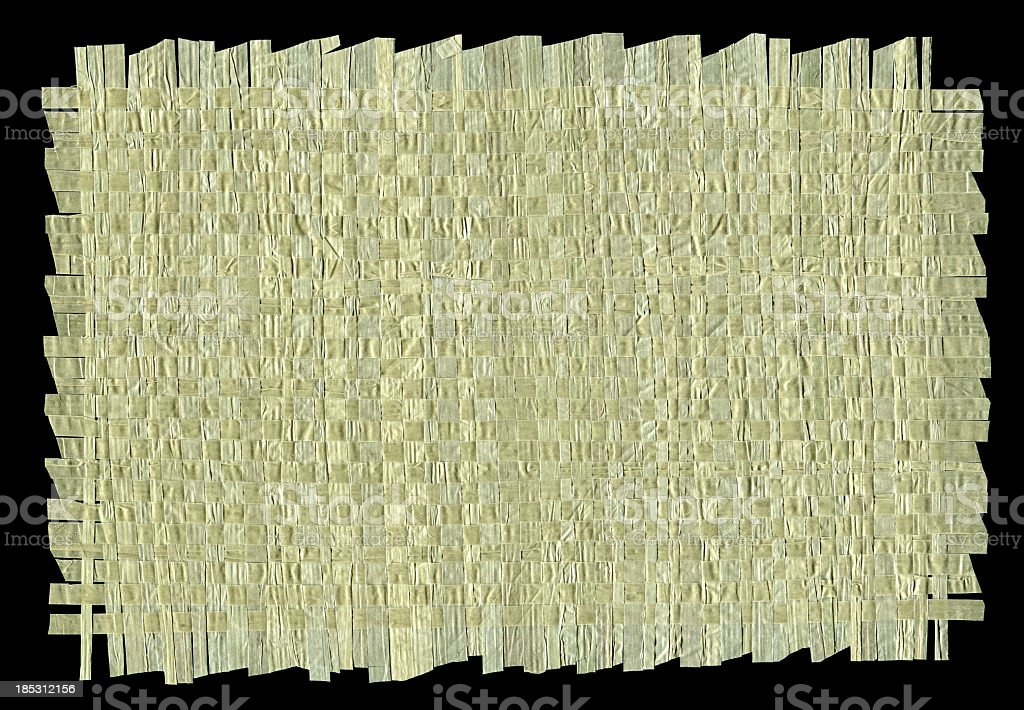 Nylon bag woven textured background isolated stock photo