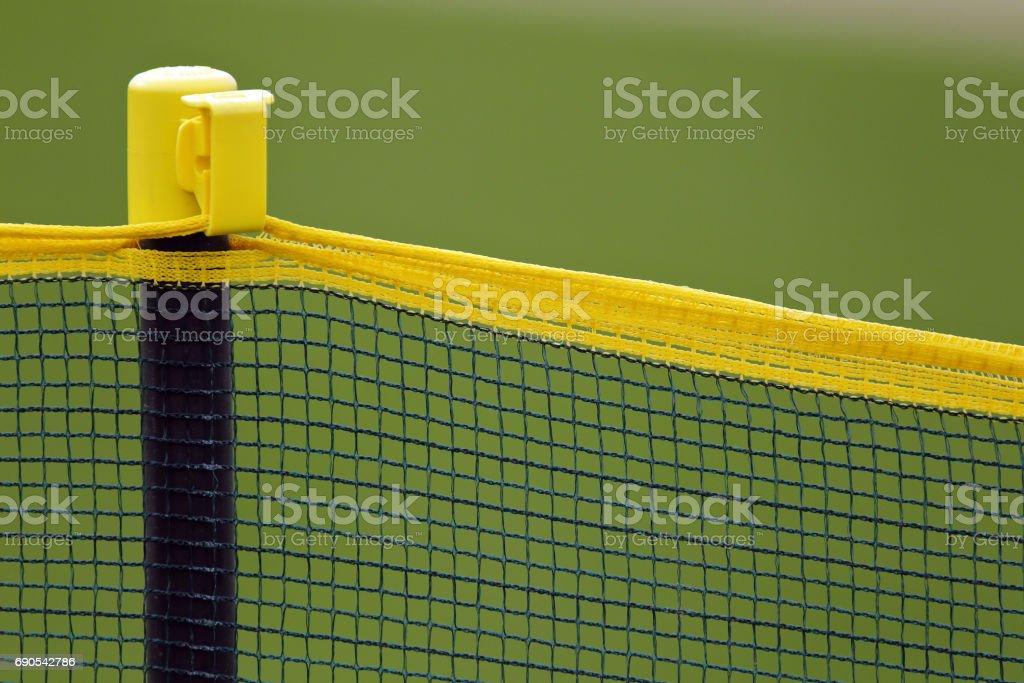 Nylon Fence stock photo