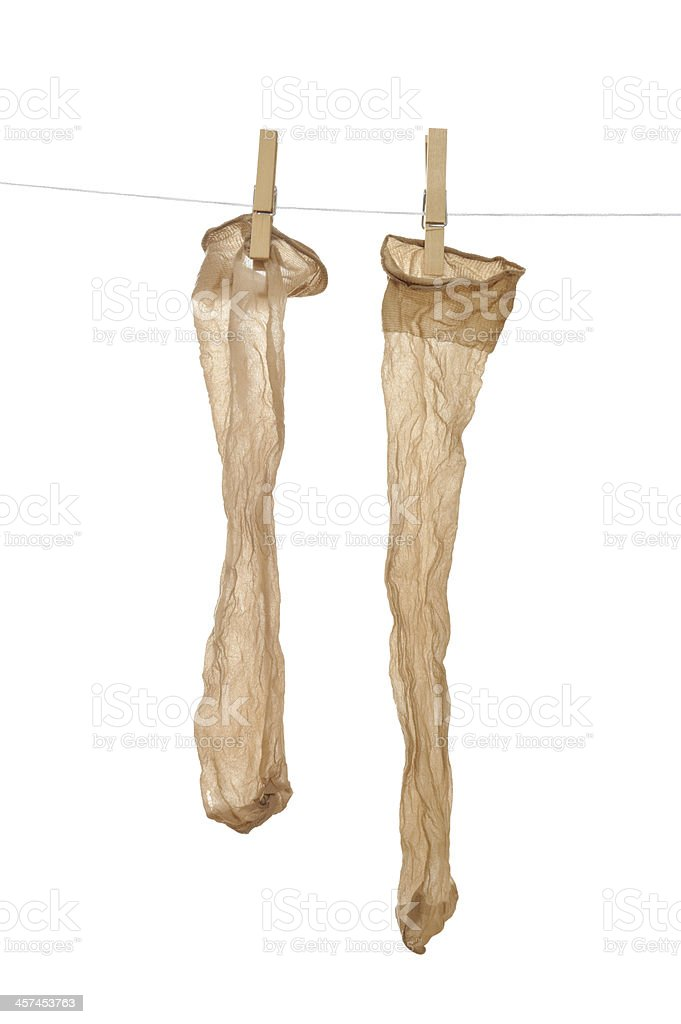 Nylon Stocking royalty-free stock photo