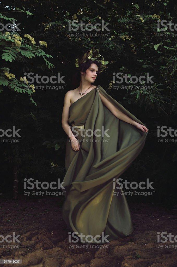 Ninfa na thickets foto de stock royalty-free