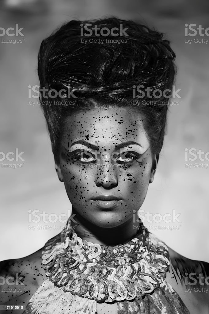 nymph royalty-free stock photo