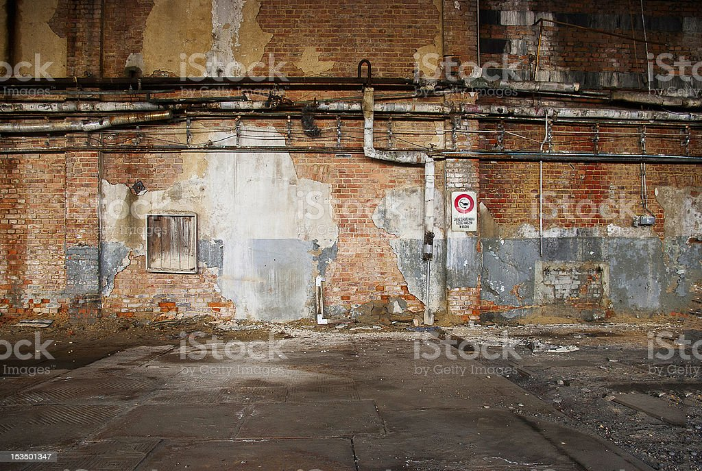 o othe old factory royalty-free stock photo