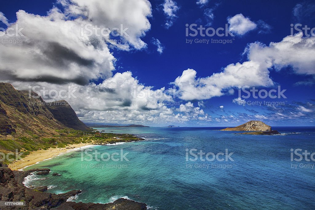 Oahu, Hawaii stock photo