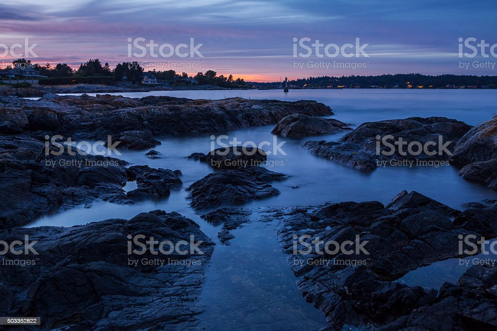 Oak Bay,Vancouver Island stock photo