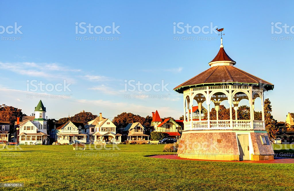 Oak Bluffs, Martha's Vineyard stock photo