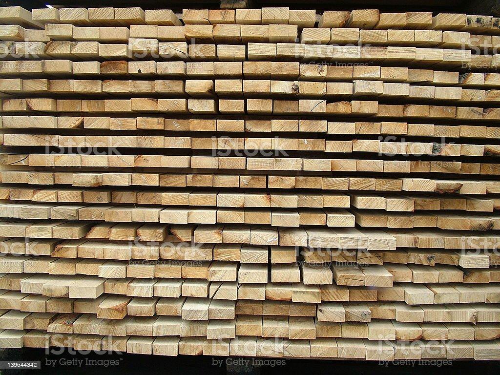 Oak Boards royalty-free stock photo
