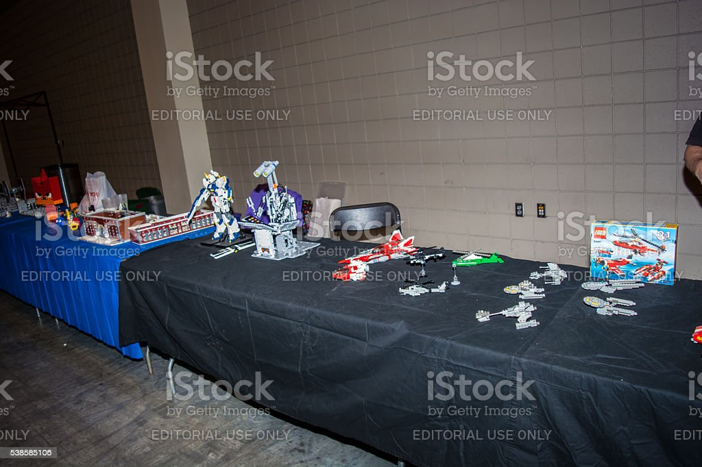 Oak City Comicon, Raleigh North Carolina Convention stock photo