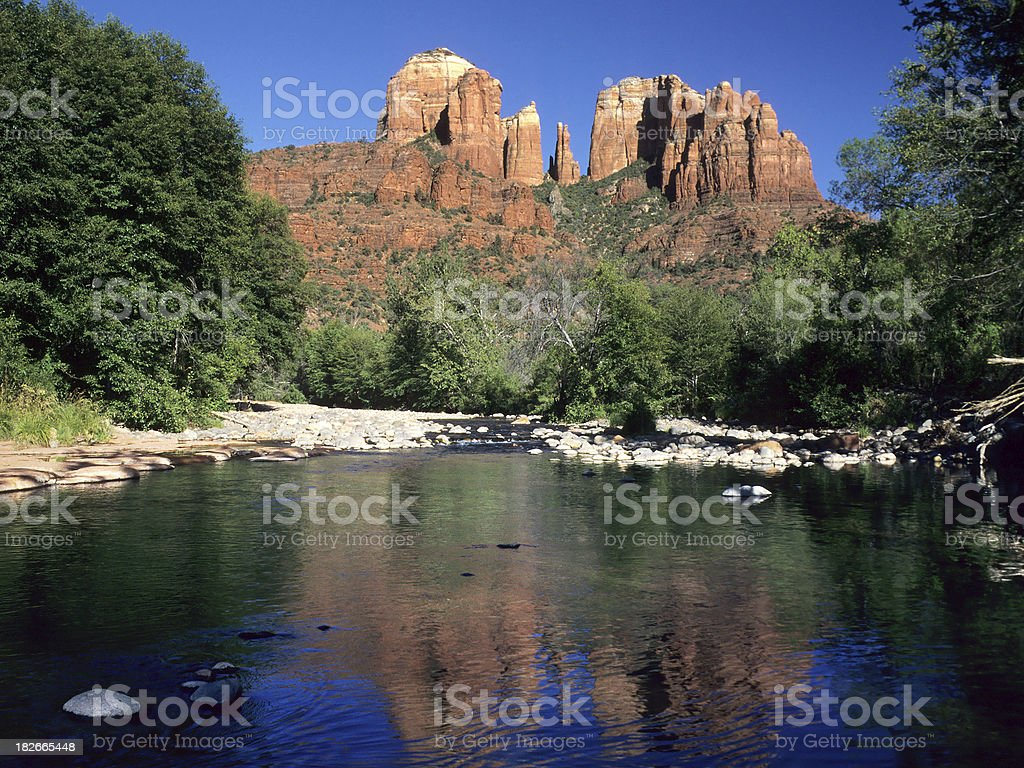 Oak Creek Canyon royalty-free stock photo