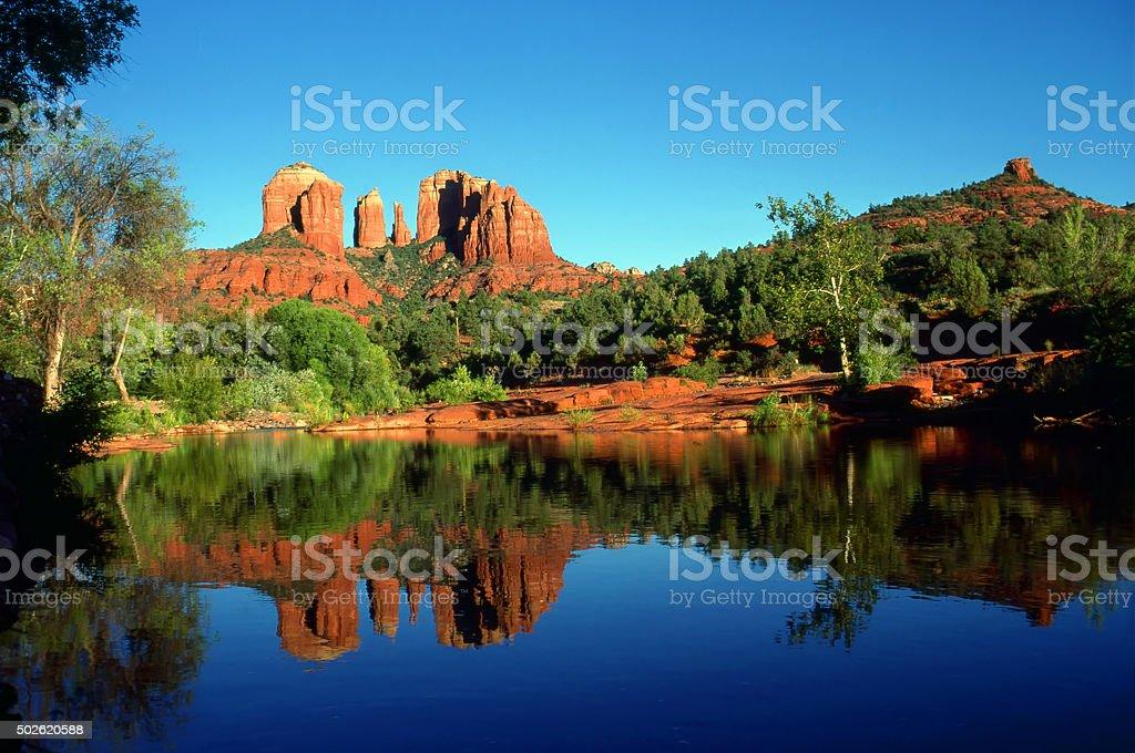 Oak Creek Canyon stock photo