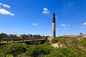 Oak Island Lighthouse in Caswell Beach