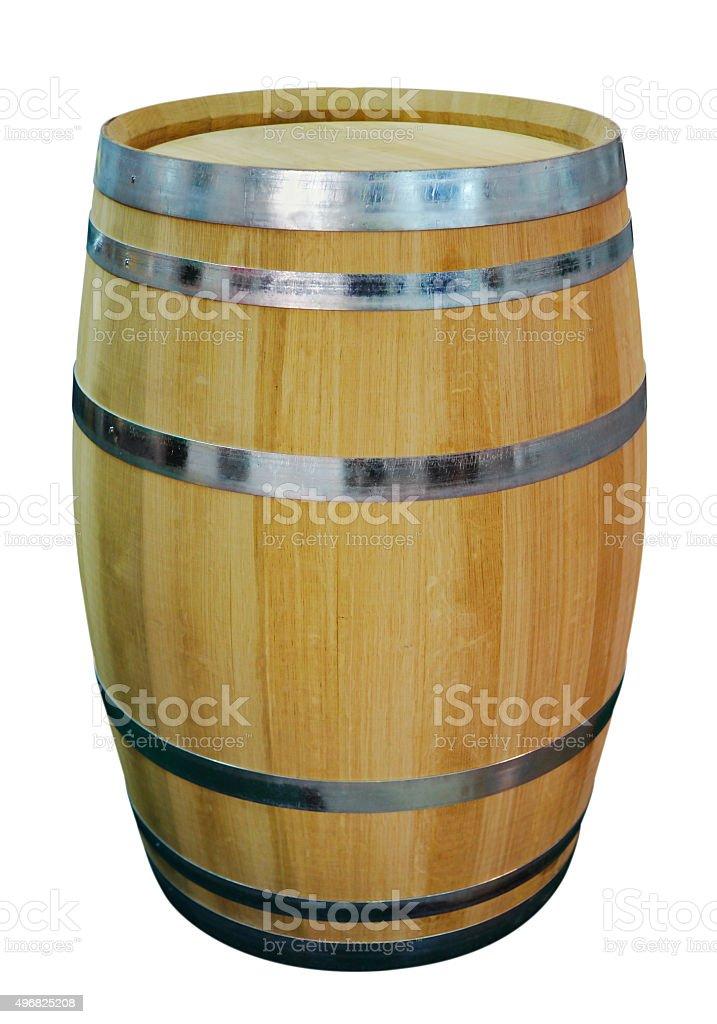 Oak Wine Cask stock photo