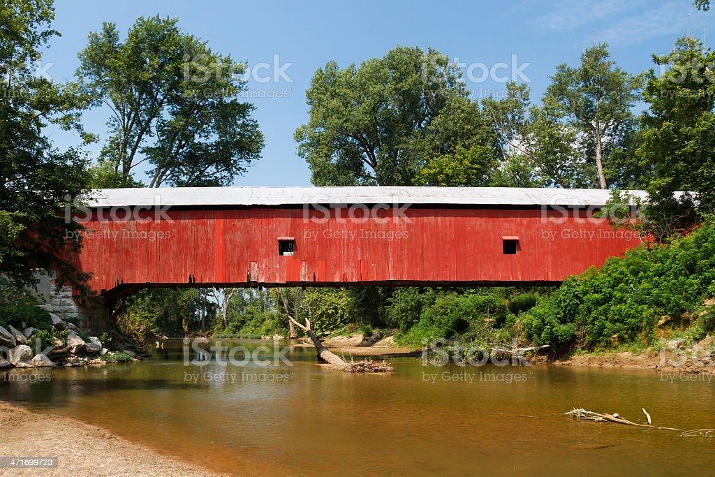 Oakalla Bridge stock photo