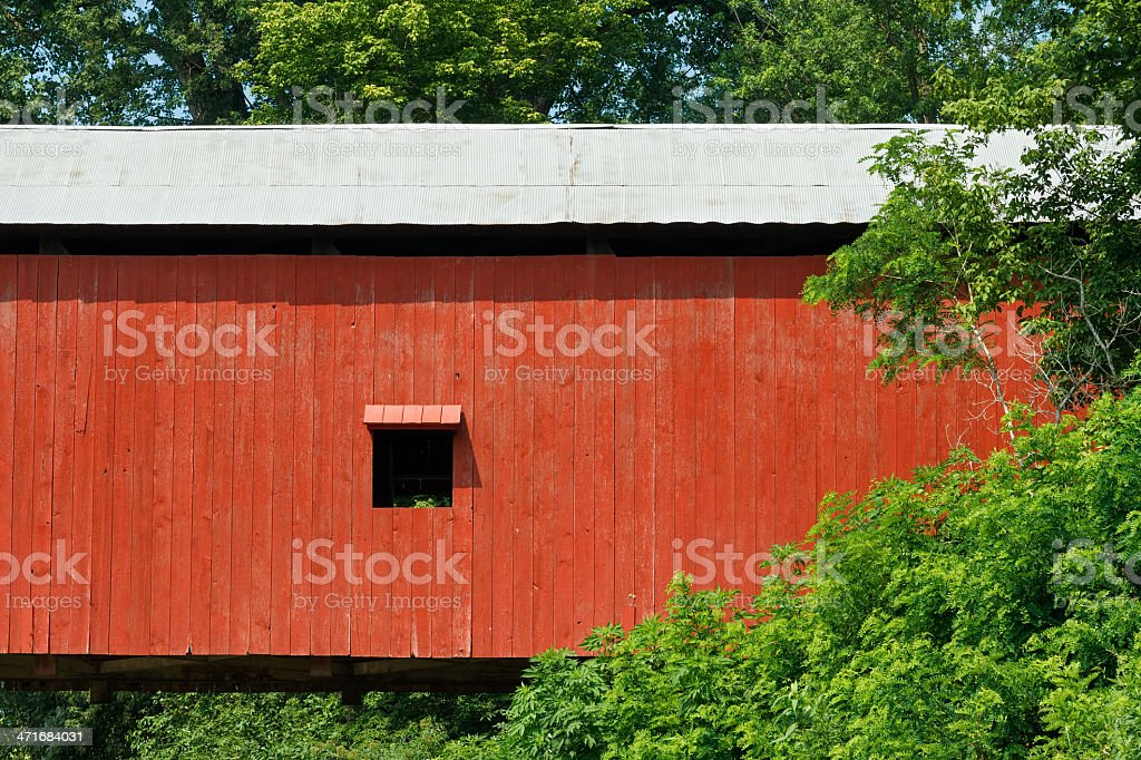 Oakalla Covered Bridge stock photo