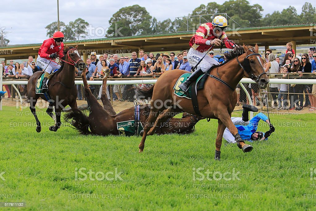 Oakbank Easter Racing, Carnival, Adelaide Hills, Australia. stock photo