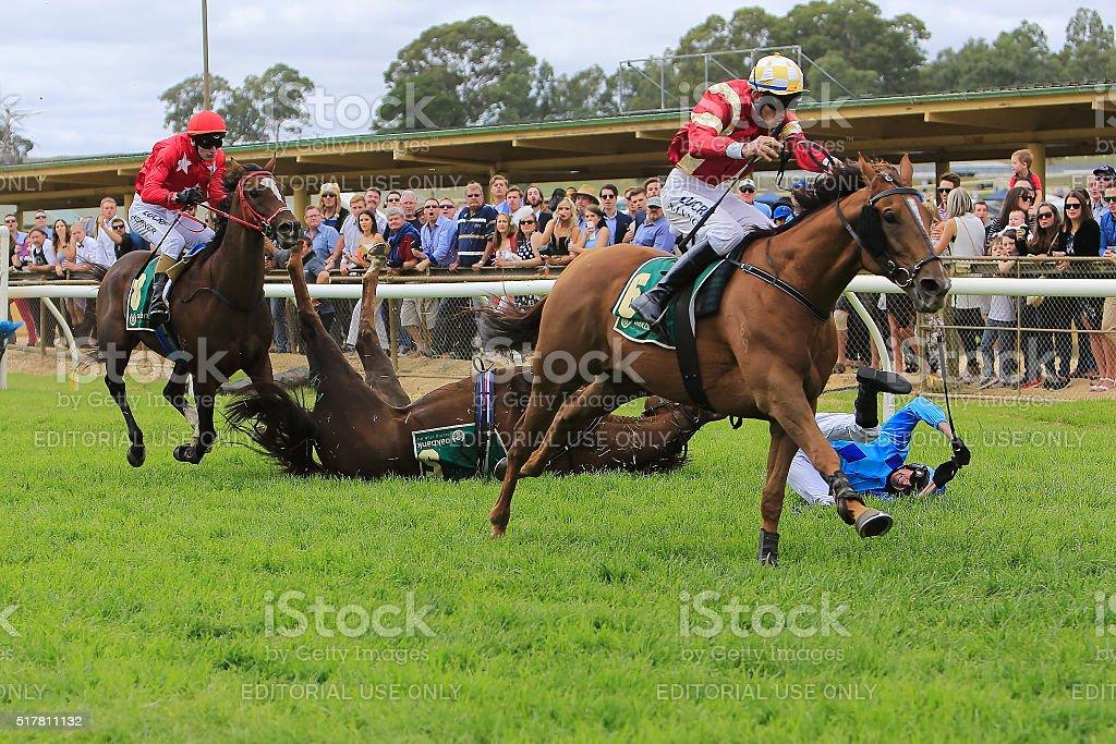 Oakbank Easter Racing, Carnival, Adelaide Hills, Australia. stock photo