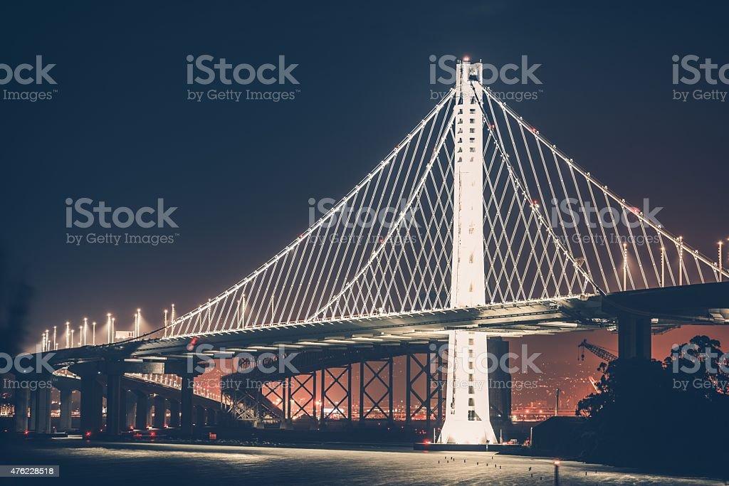Oakland Bay Bridge stock photo
