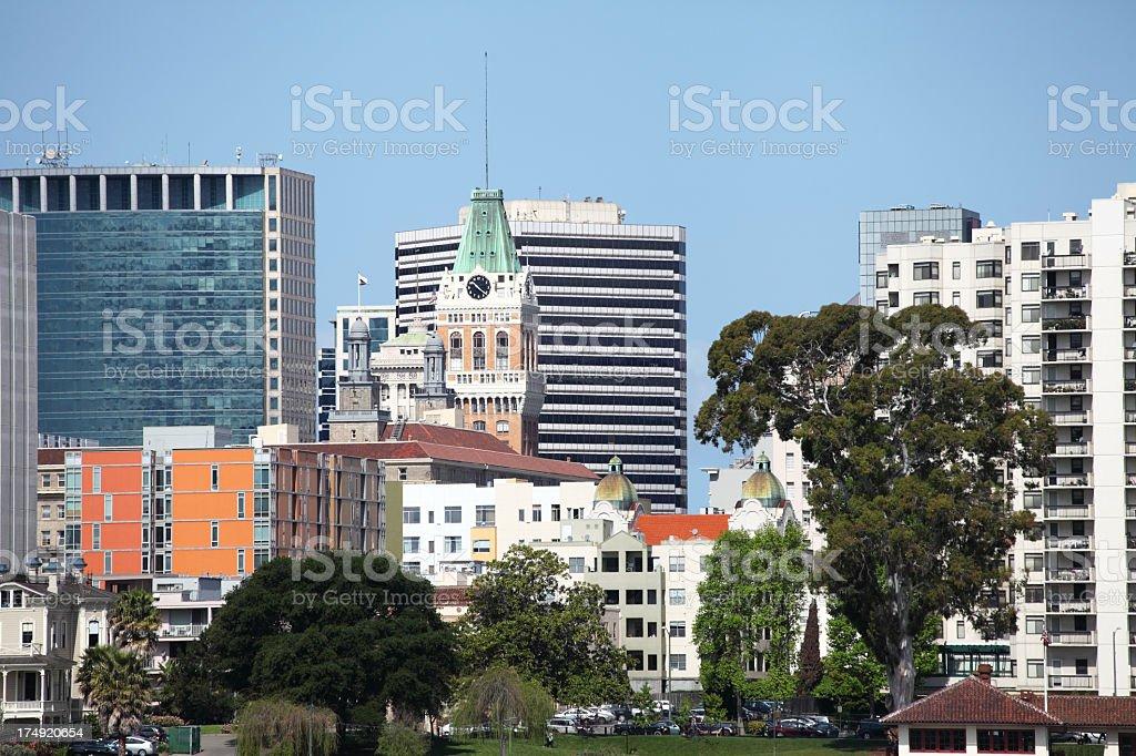 Oakland, California royalty-free stock photo