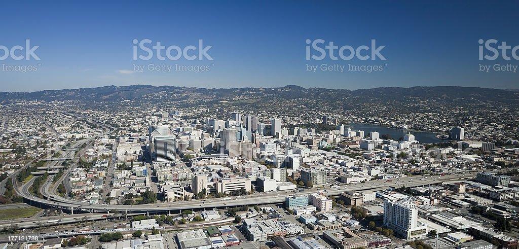 Oakland City stock photo