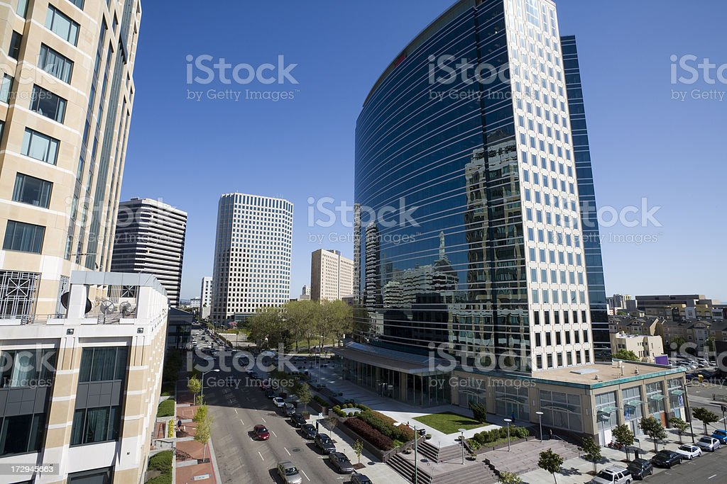 Oakland Office Buildings stock photo