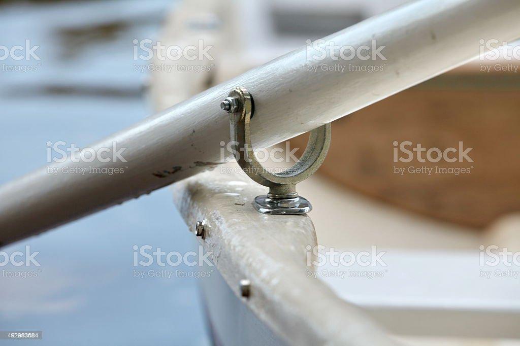 oarlock stock photo