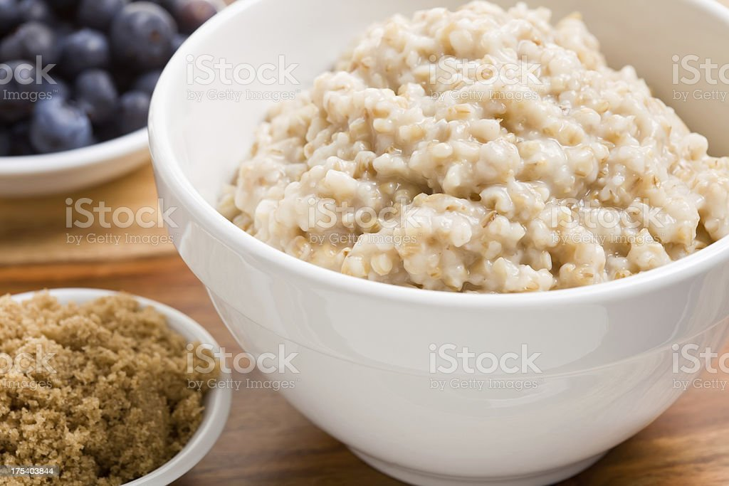 Oat Meal stock photo