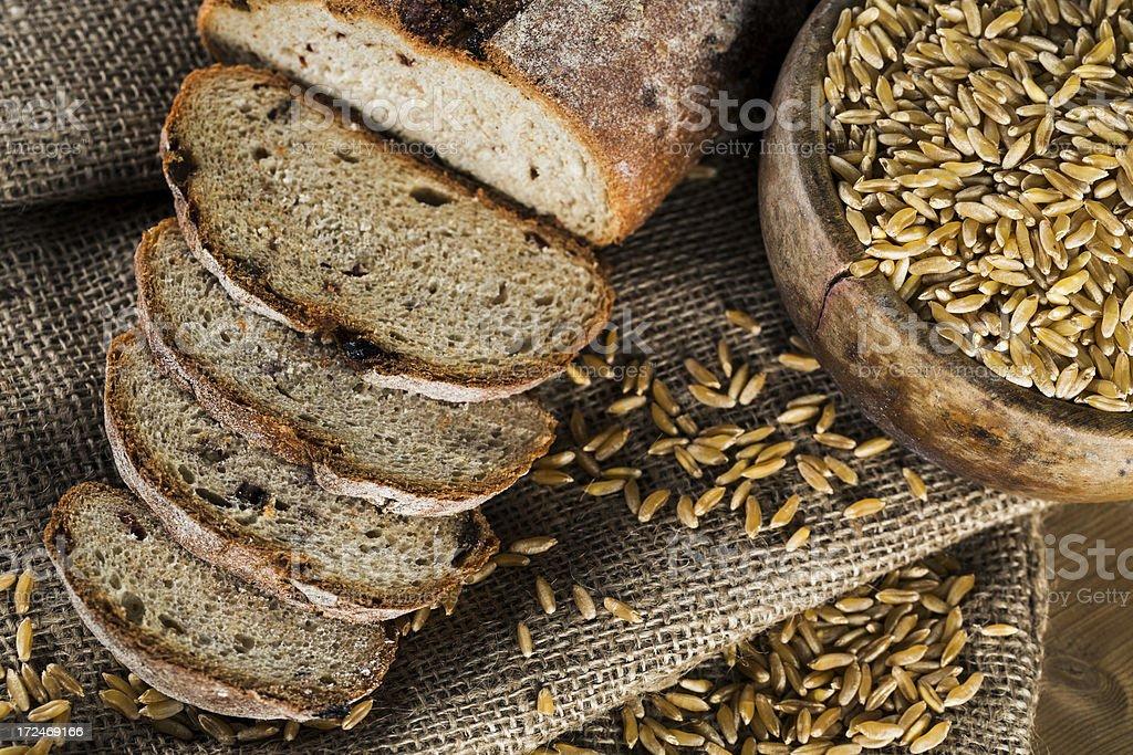 Oatmeal bread royalty-free stock photo