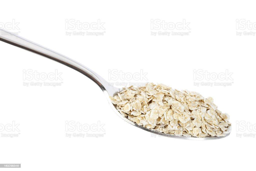 Oatmeal stock photo
