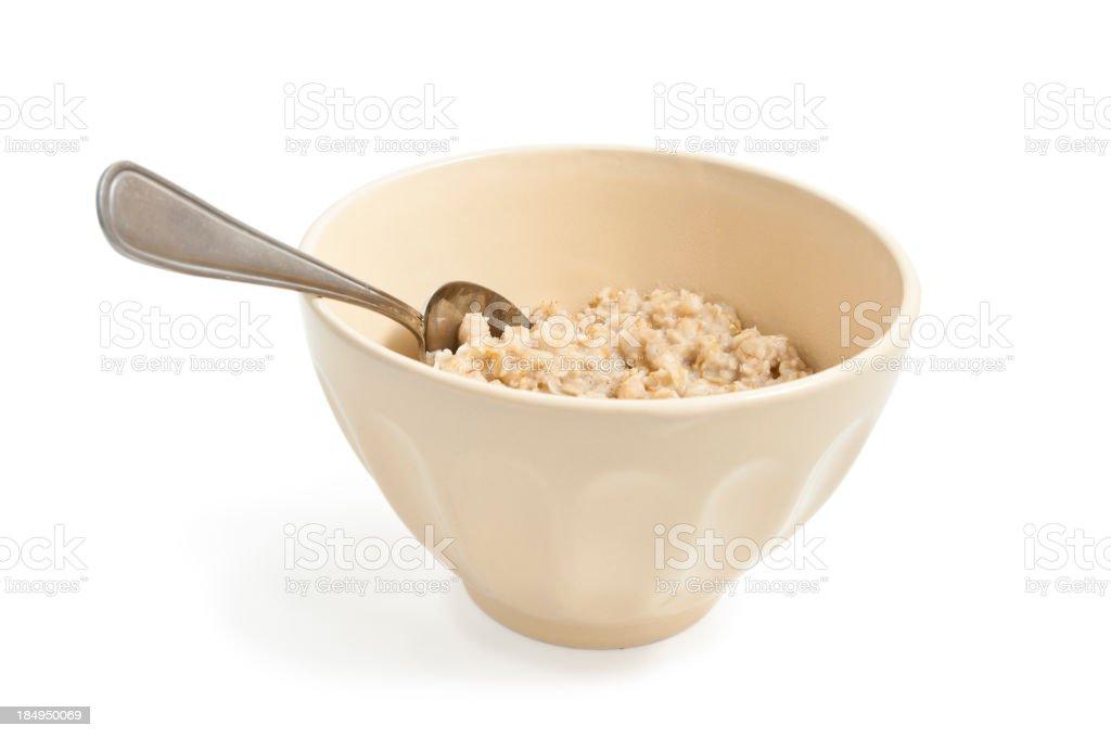 Oatmeal royalty-free stock photo