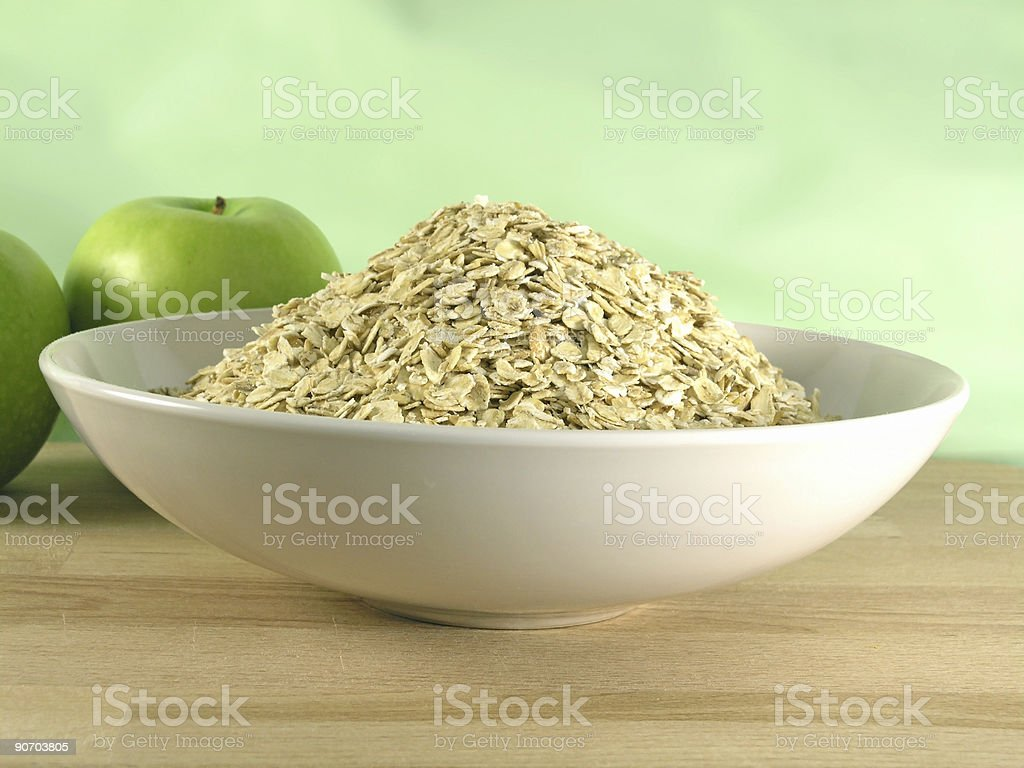 oatmeal royalty-free stock photo