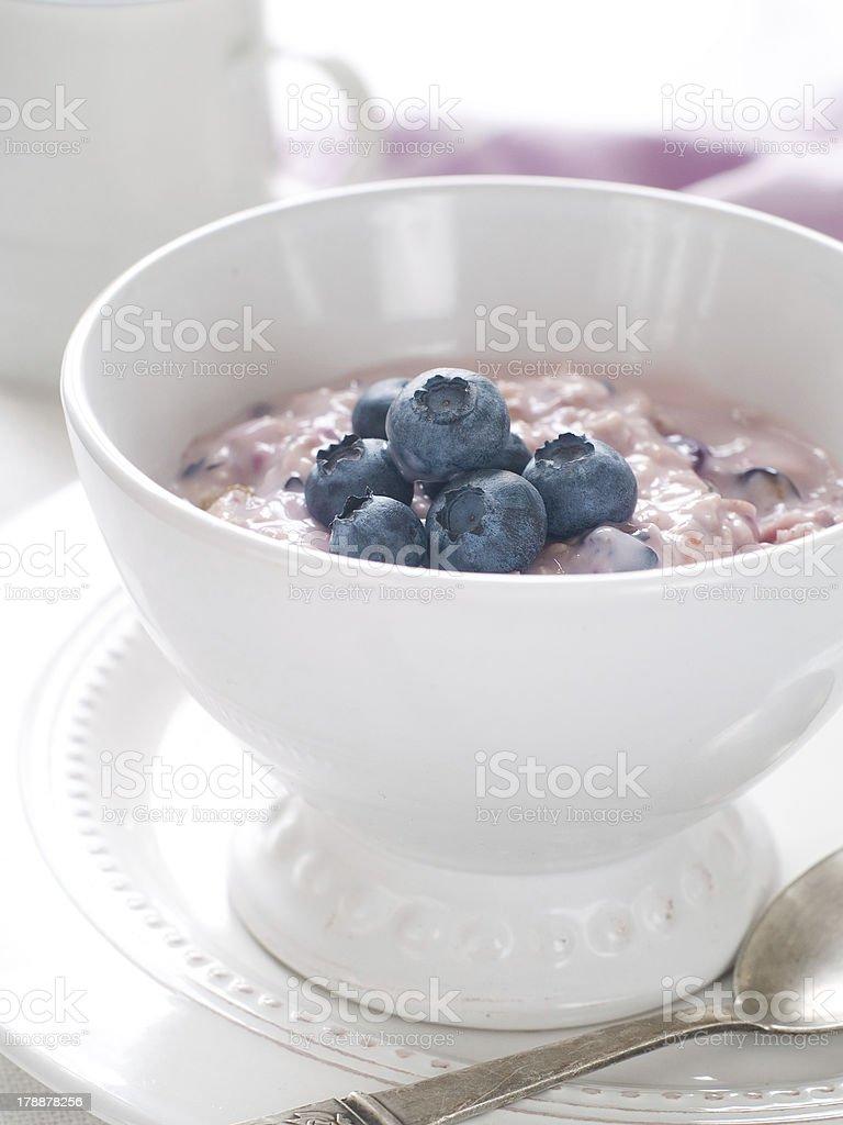 oatmeal porridge royalty-free stock photo