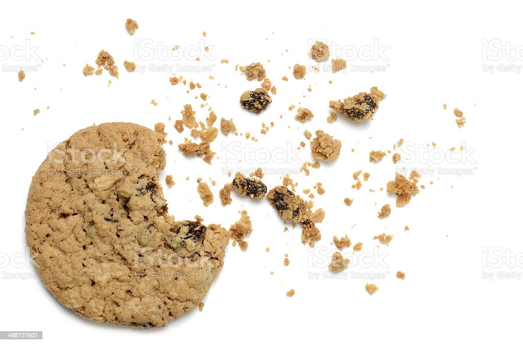 Oatmeal Raisin stock photo
