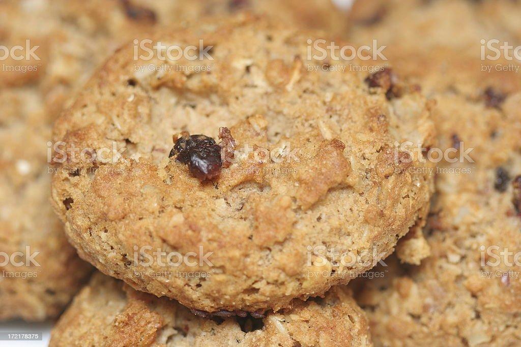 Oatmeal Rasin Cookies stock photo