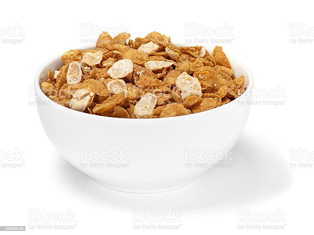 Oatmeal Vanilla Yogurt Breakfast Cereal royalty-free stock photo