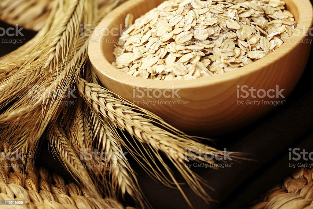 oats stock photo