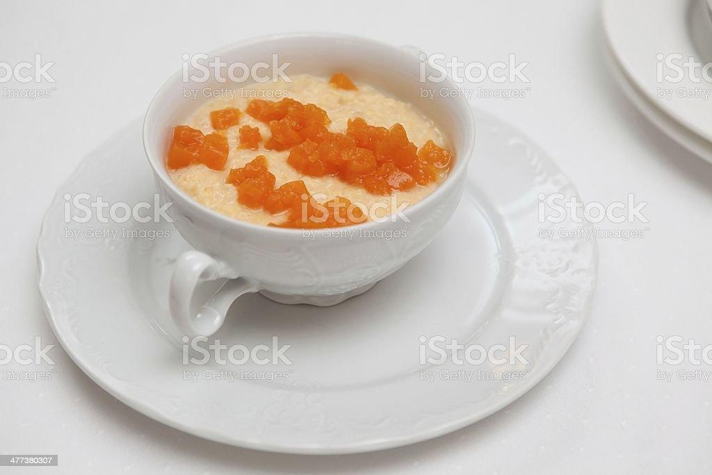 Oats porridge royalty-free stock photo