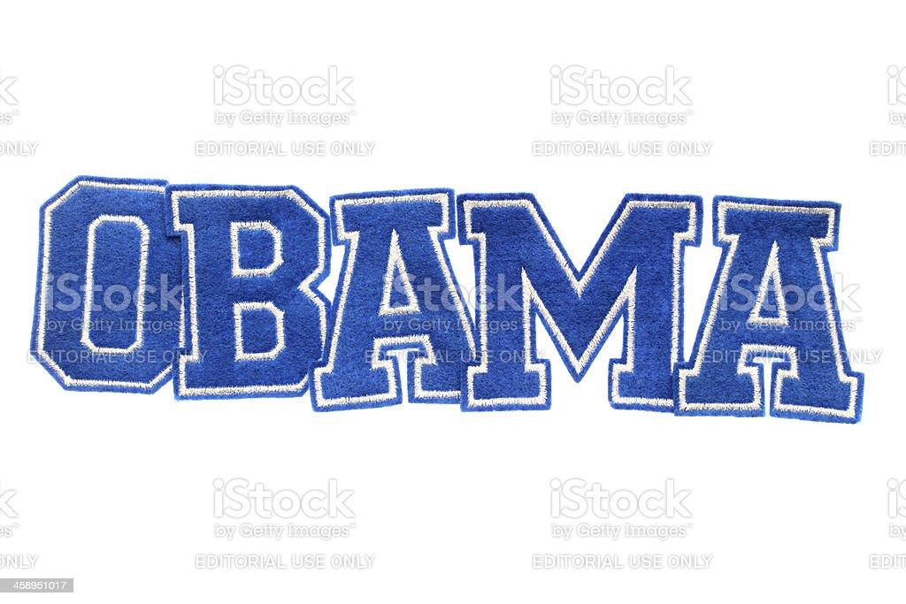Obama royalty-free stock photo
